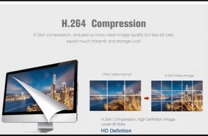 comprensión de video H.264