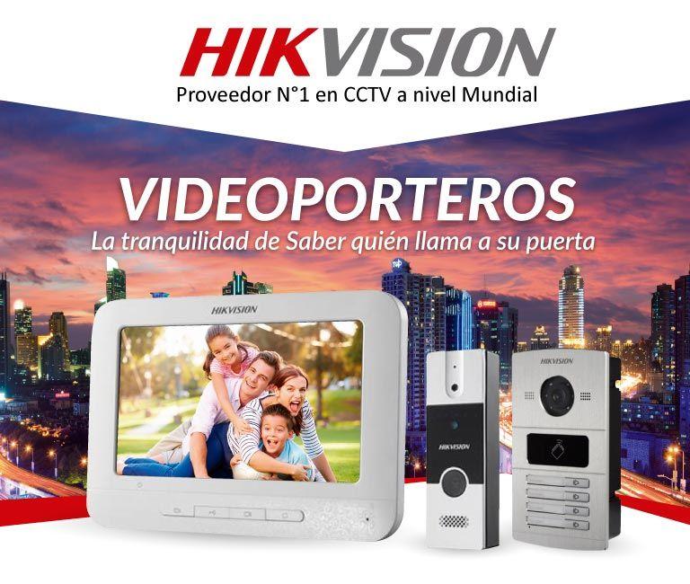 vídeo porteros hikvision colombia