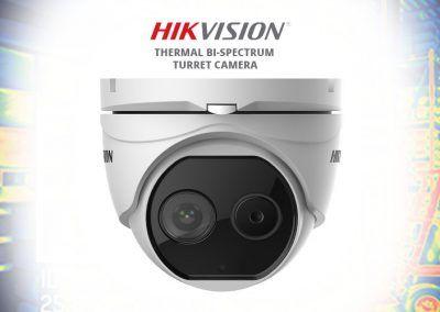 cámaras térmicas hikvision